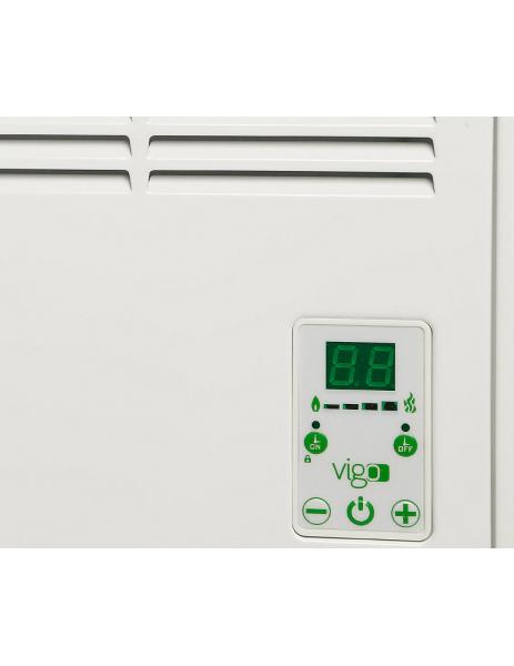 Vigo EPK4550E05B Vigo Elektrikli Panel Konvektör Isıtıcı Dijital 500 Watt Beyaz