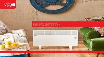 Vigo elektrikli panel konvektör ısıtıcı montajı
