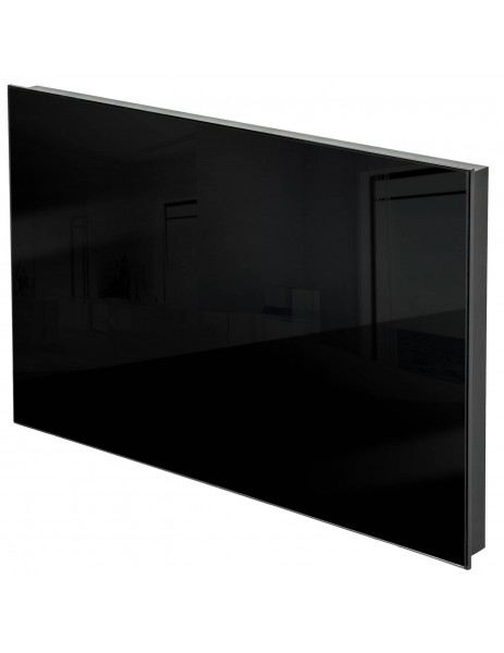 Kuas siyah cam panel infrared ısıtıcı ISP-G 300 watt (620x420x40)