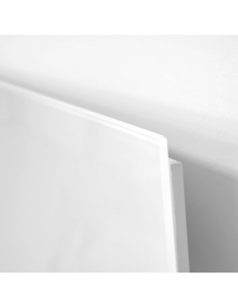 Kuas beyaz cam panel infrared ısıtıcı ISP-G 450 watt (620x620x40)