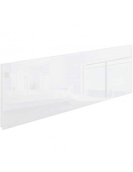 Kuas beyaz cam panel infrared ısıtıcı ISP-G 550 watt (1220x420x40)