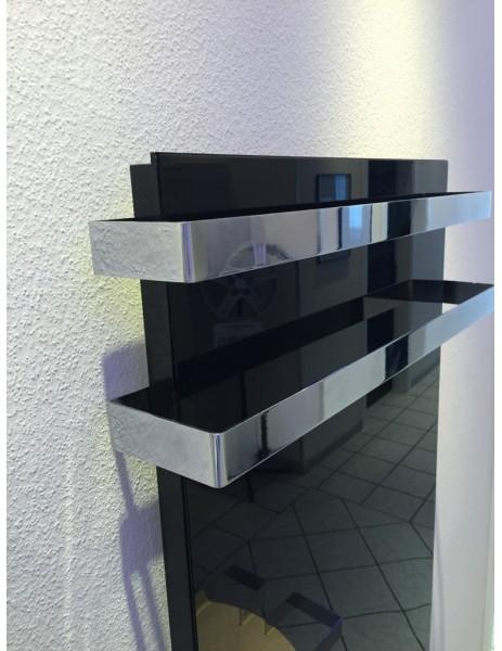 Kuas siyah cam havlupan infrared ısıtıcı ISP 700 watt (920x620x40)