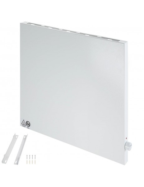 Termostatlı hibrit kızılötesi ısıtıcı kuas Hybridboard  600 watt  Elektrikli ısıtıcı (600x600x40)